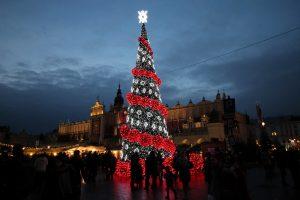 Krakau Weihnachtsbaum 2015