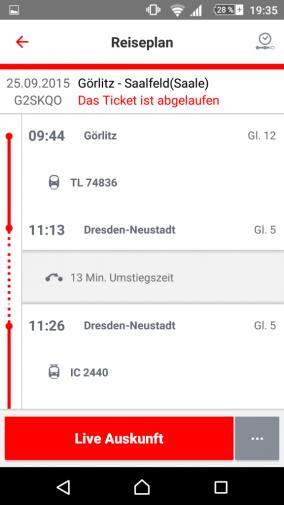 Mobil sein. Vernetzen. Bahn fahren wird anders. Ein Erfahrungsbericht