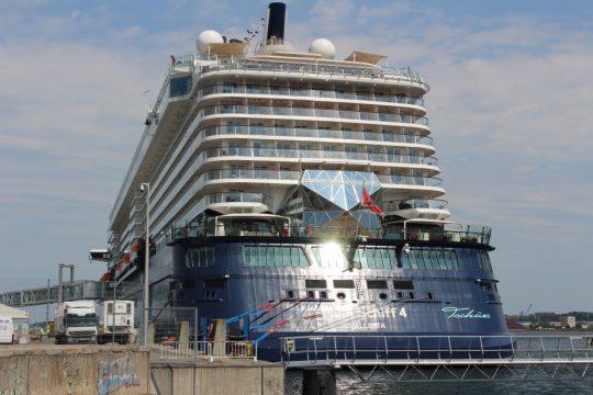 Mit der Mein Schiff 4 auf der Ostsee - unsere Jungfernfahrt