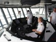 Mein Schiff 4 - Auf der Brücke (die Crew mit Kapitän)