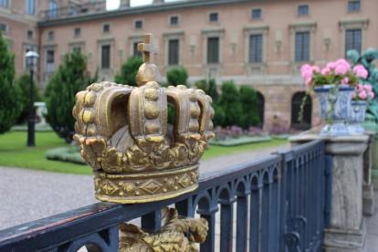 Stockholm - Königsschloß (Außenansicht)