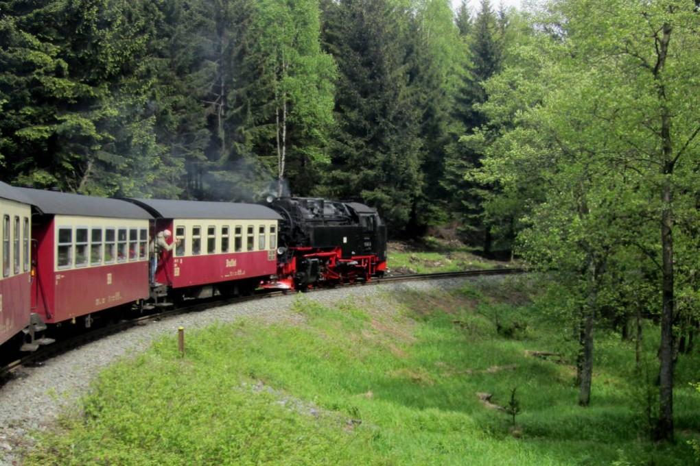 Dampflok auf Brocken (26)