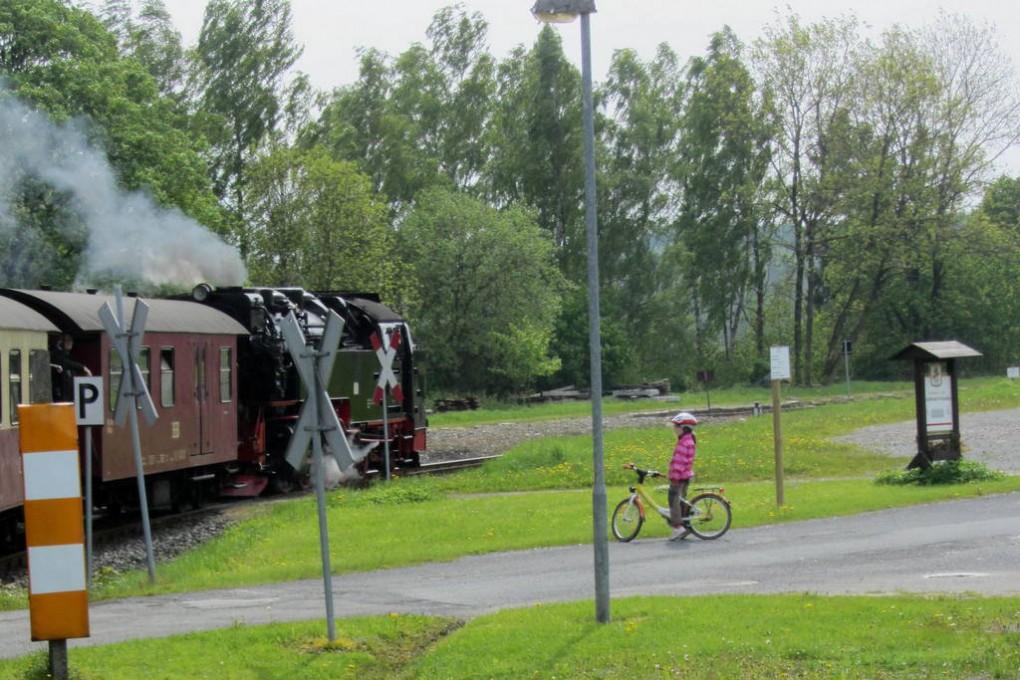 Dampflok auf Brocken (30)