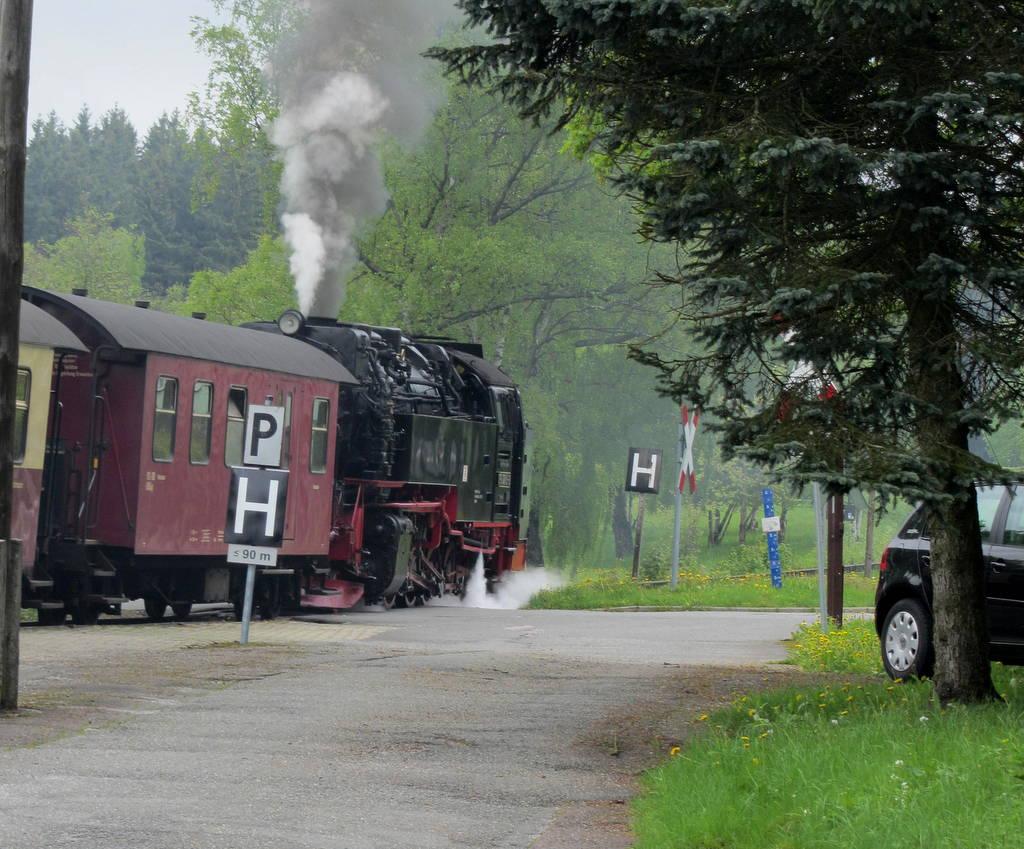 Dampflok auf Brocken (7)