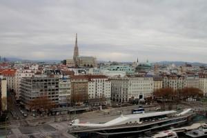 Wien Blick auf ersten Bezirk