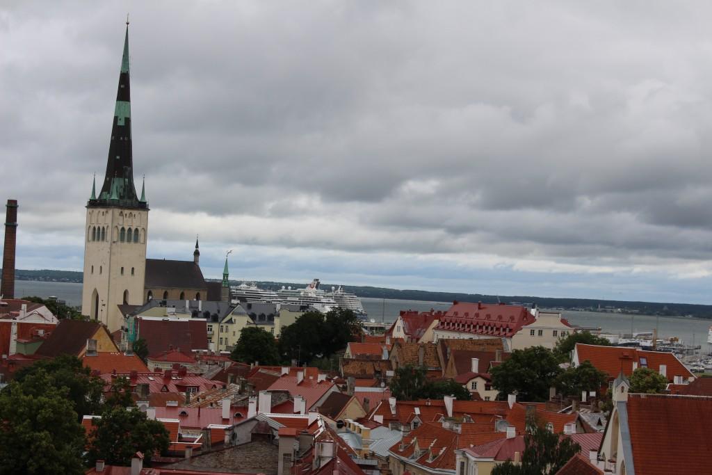 Tallinn - Blick über die Stadt