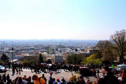 Mädelswochenende in Paris.