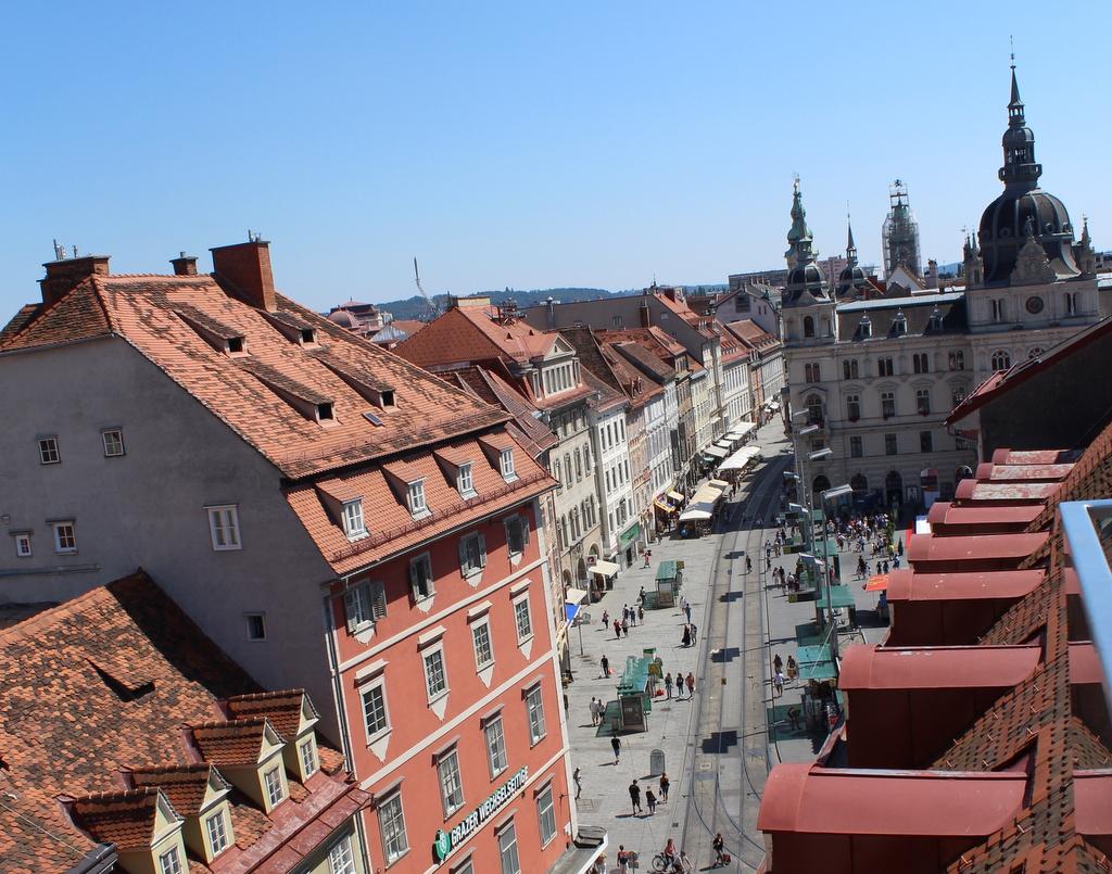 Die Innenstadt von Graz