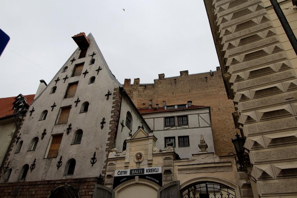 Riga hat viele Speicherhäuser.