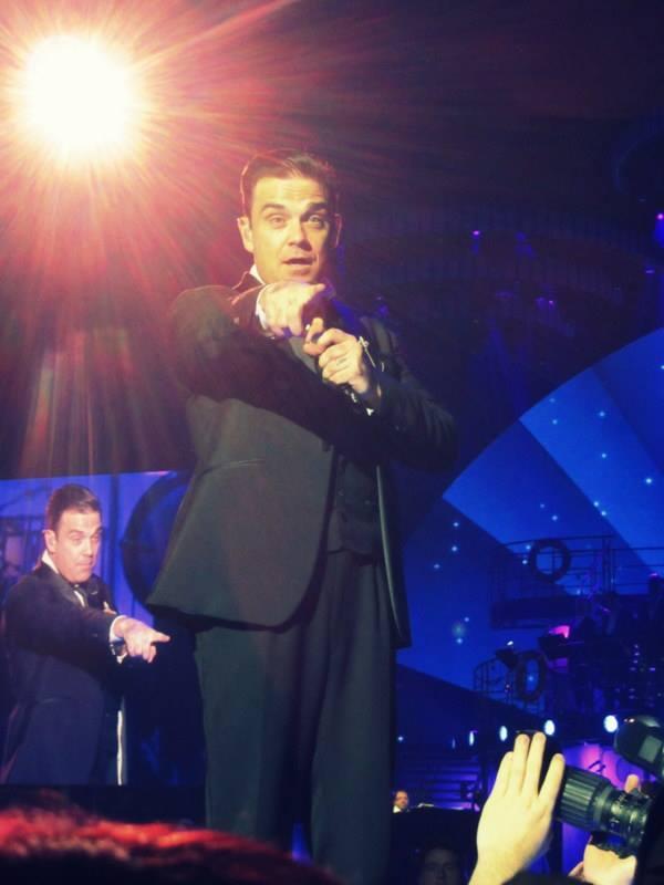 Robbie zeigt auf mich ;)