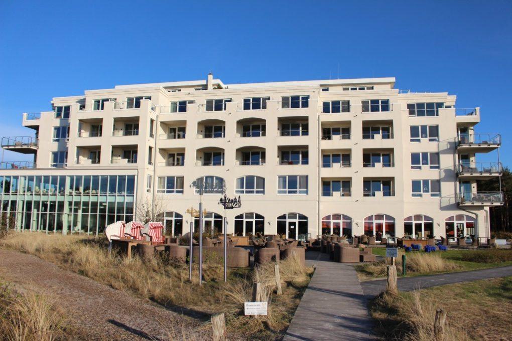 Strandhotel Dünenmeer – Seeseite