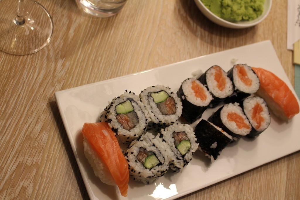 Stern*s Kochwerkstatt - Sushi selbstgemacht, gar nicht so schlecht.