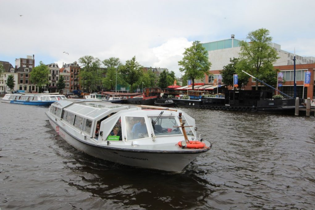 Amsterdam Canal Boat Tour Green Line