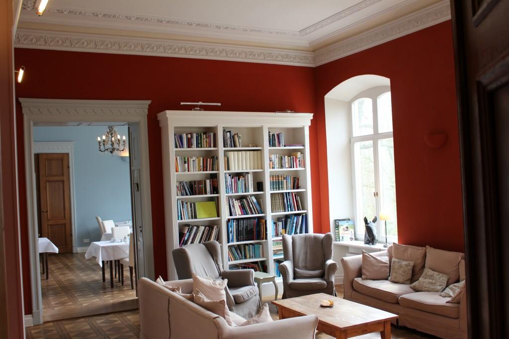 Bibliothek im Schloss Gamehl