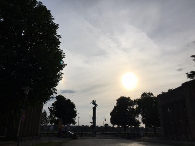 Ein Sommer-Tag in Düsseldorf