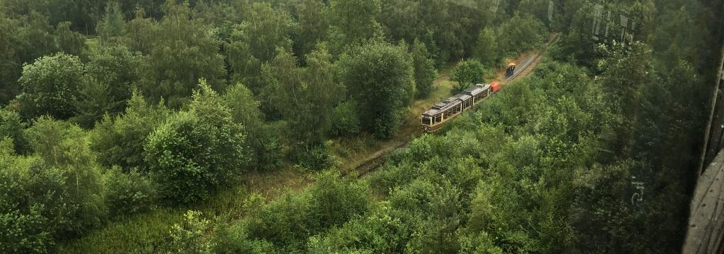 Eine Fahrt mit dieser Bahn ist auch drin.