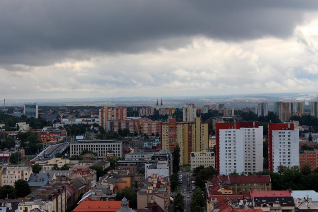 Ein Blick über Ostrava