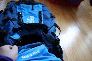 Das erste mal mit Backpack - Meine Erfahrungen mit dem Bogong 65+10 von Skandika