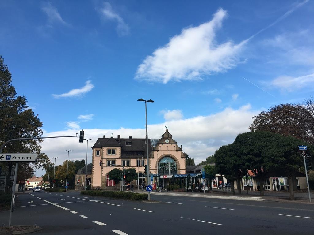 Der Bahnhof von Bad Harzburg