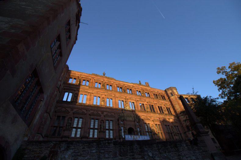 Von den schönsten Plätzen für Sonnenuntergänge in Heidelberg