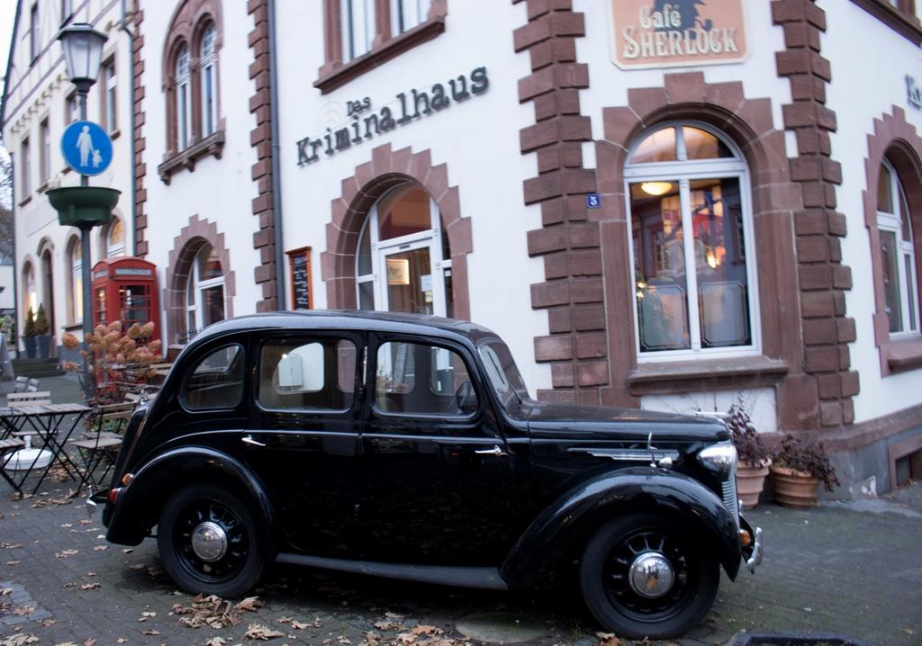 Cafe Sherlock Kriminalhaus