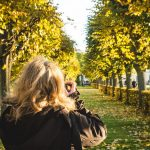 Indian Summer beim Schloss Charlottenburg