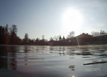 Hévíz: Wie ich Eisprinzessin wurde und anschließend im Schwefelwasser badete