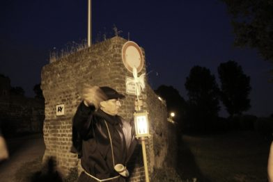 Ein Besuch in Zons. Von hohen Örtchen, Nachtwächtern und einer besonderen Windmühle