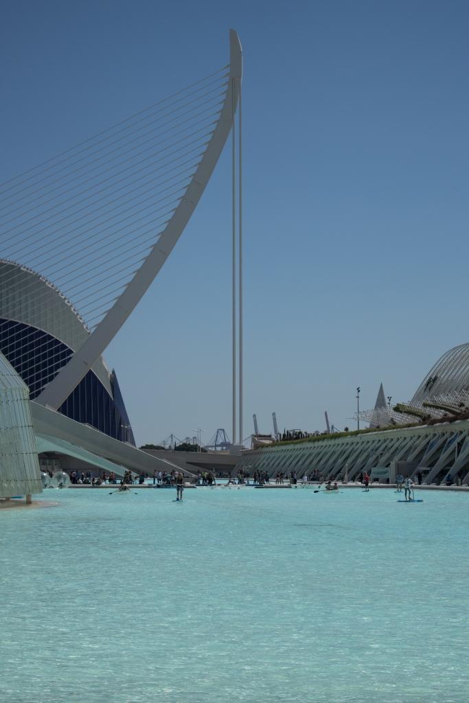 Valencia-Stadt der Künste und Wissenschaften
