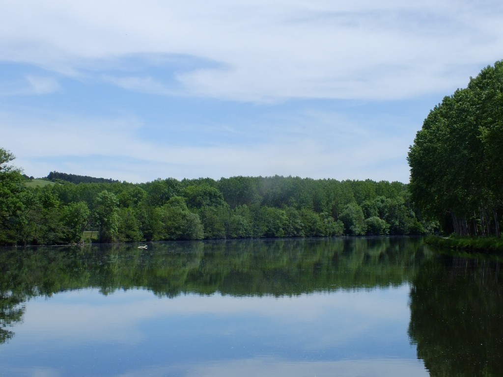 Unsere Hausboottour in der Bourgogne - Von Auxerres bis Cravant