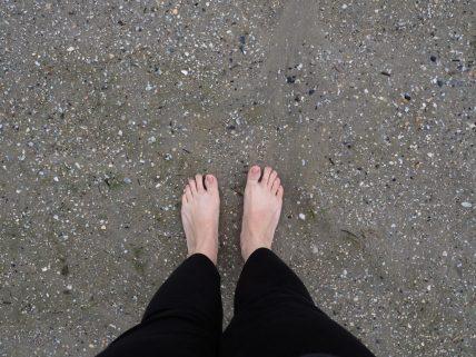 Ein Wochenende im Schlafstrandkorb. Wie ich die Nordsee bei Bensersiel hautnah erlebt habe.