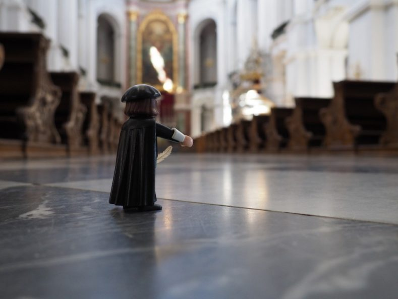 Auf den Spuren des Reformators Martin Luther in Sachsen.