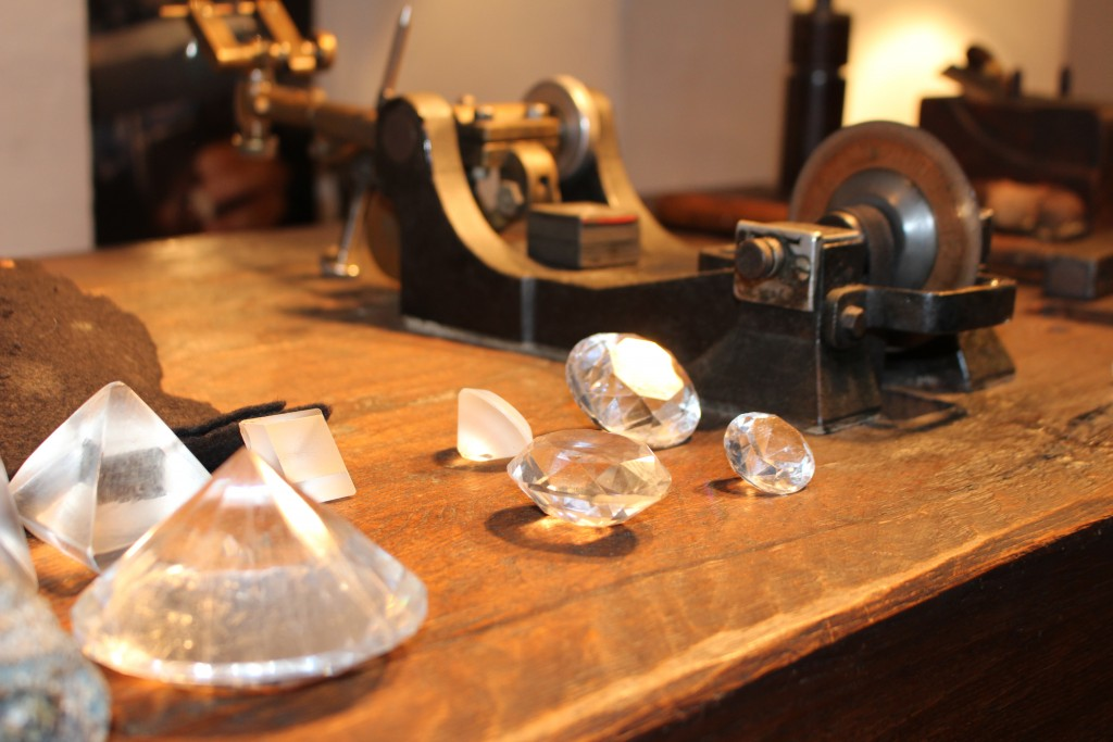 im Diamantenmuseum von Brügge