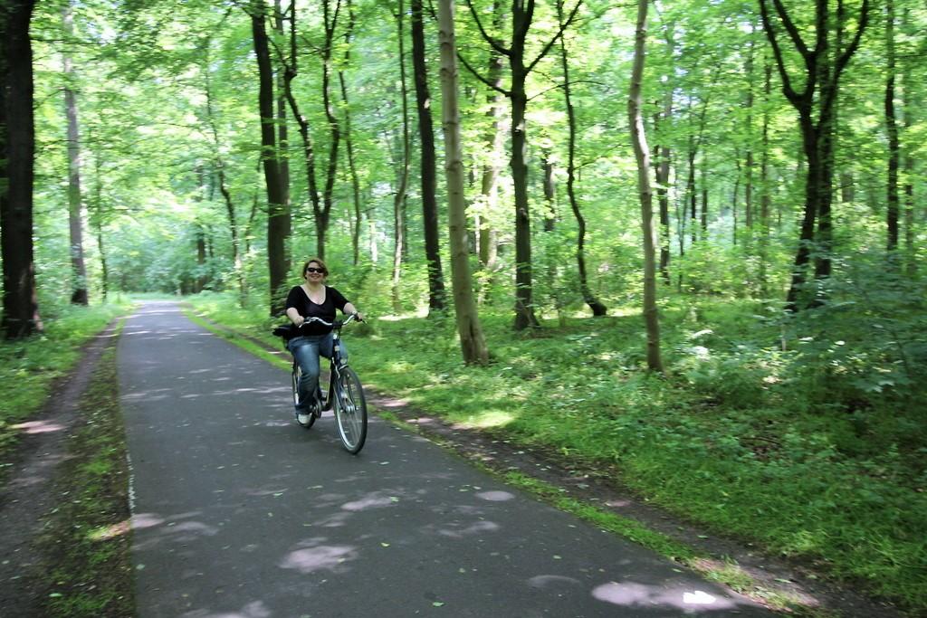 Ein Sommertag im grünen Hannover.