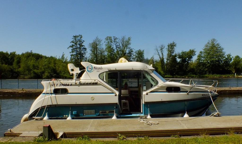 Unsere Hausboottour in der Bourgogne - Von Mailly-la-Ville nach Bailly