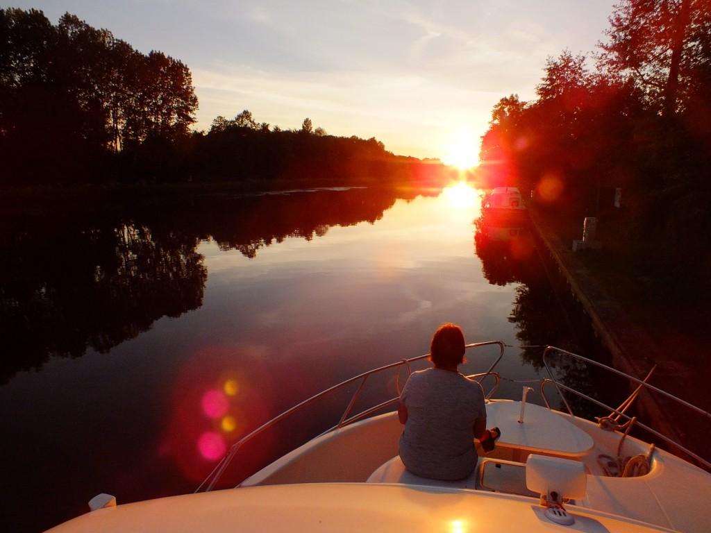 Im Hausboot auf den Kanälen in der Bourgogne - Tagebuch einer Reise in die Stille der Natur