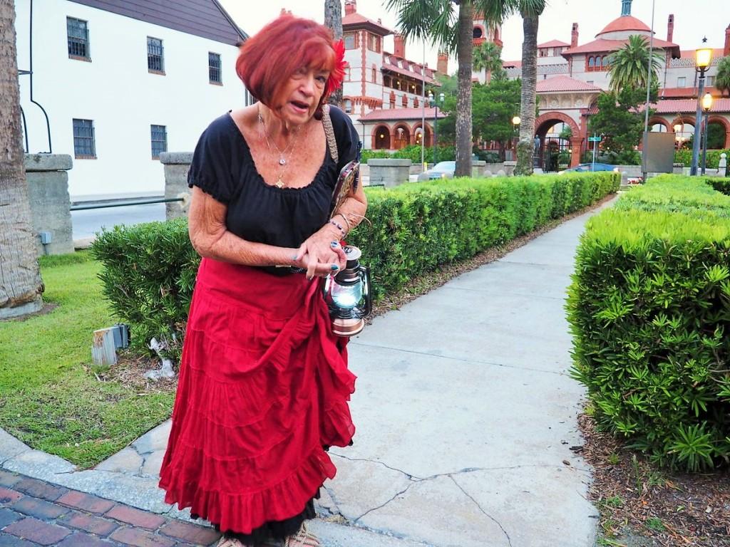 Auf Geisterjagd durch St. Augustine, Florida