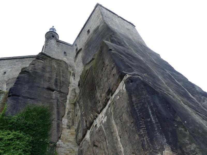 Festung Königstein: Von Aufstiegen und Ausblicken
