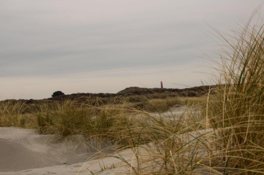 Dünen und Leuchtturm