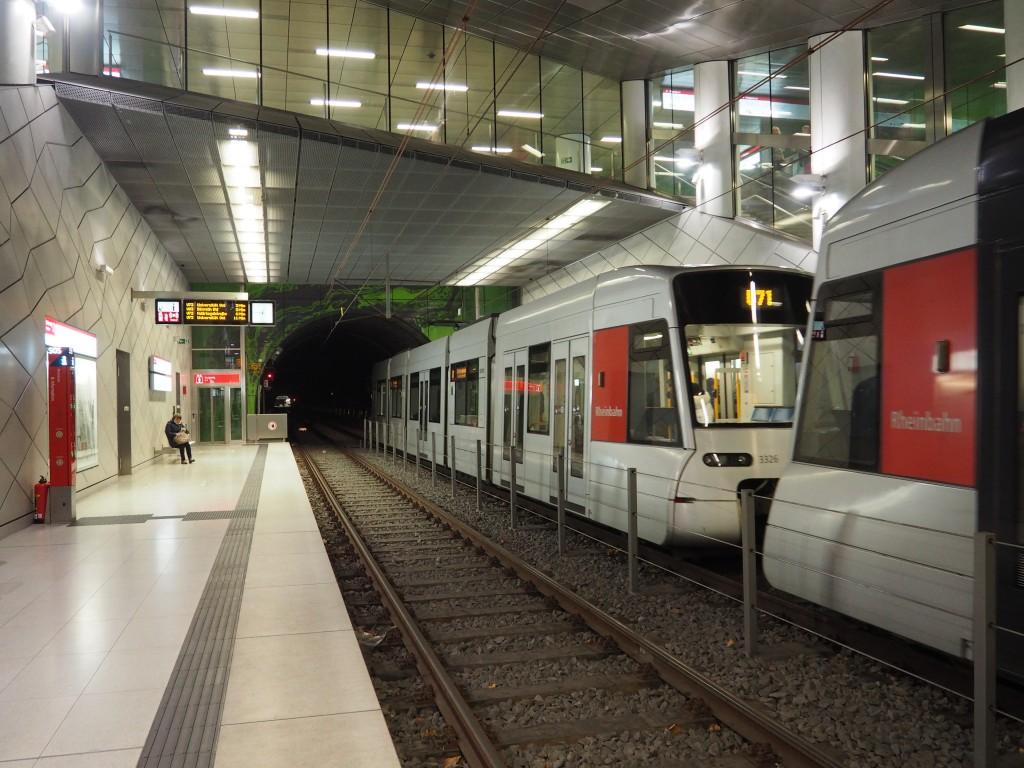 Mit der DüsseldordCard die öffentlichen Verkehrsmittel von Düsseldorf nutzen