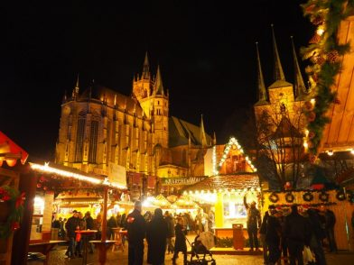 Driving Home for Christmas: ein Familientag in Erfurt