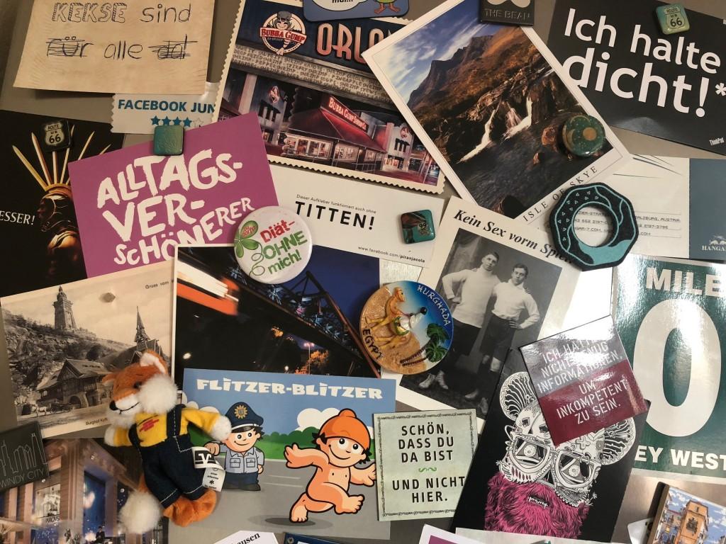 Postkarte gegen Souvenir. Die etwas andere #5JahreTZR - Aktion