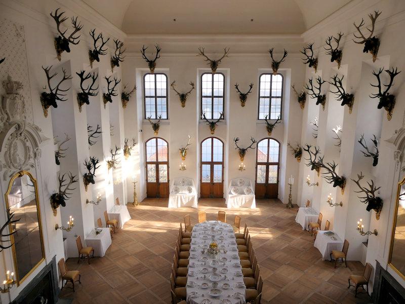 Wo sind die 3 Haselnüsse? Ein besonderer Besuch in Schloss Moritzburg