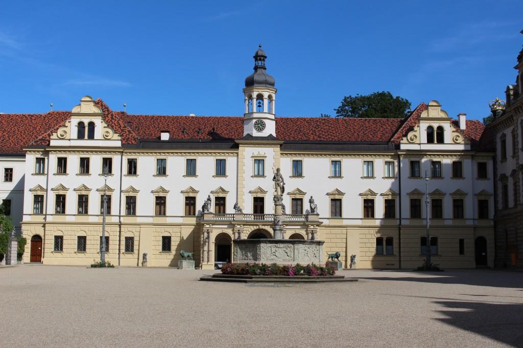 Innenhof von Schloss St. Emmeram
