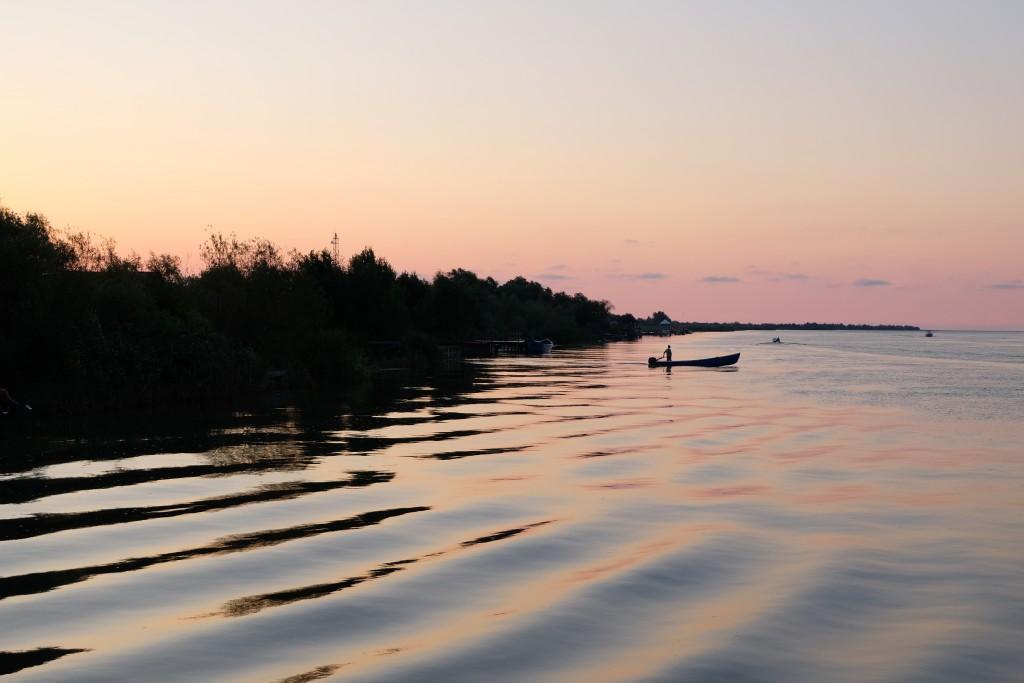 Zwischen Reihern und Fischern - Unterwegs im Donaudelta