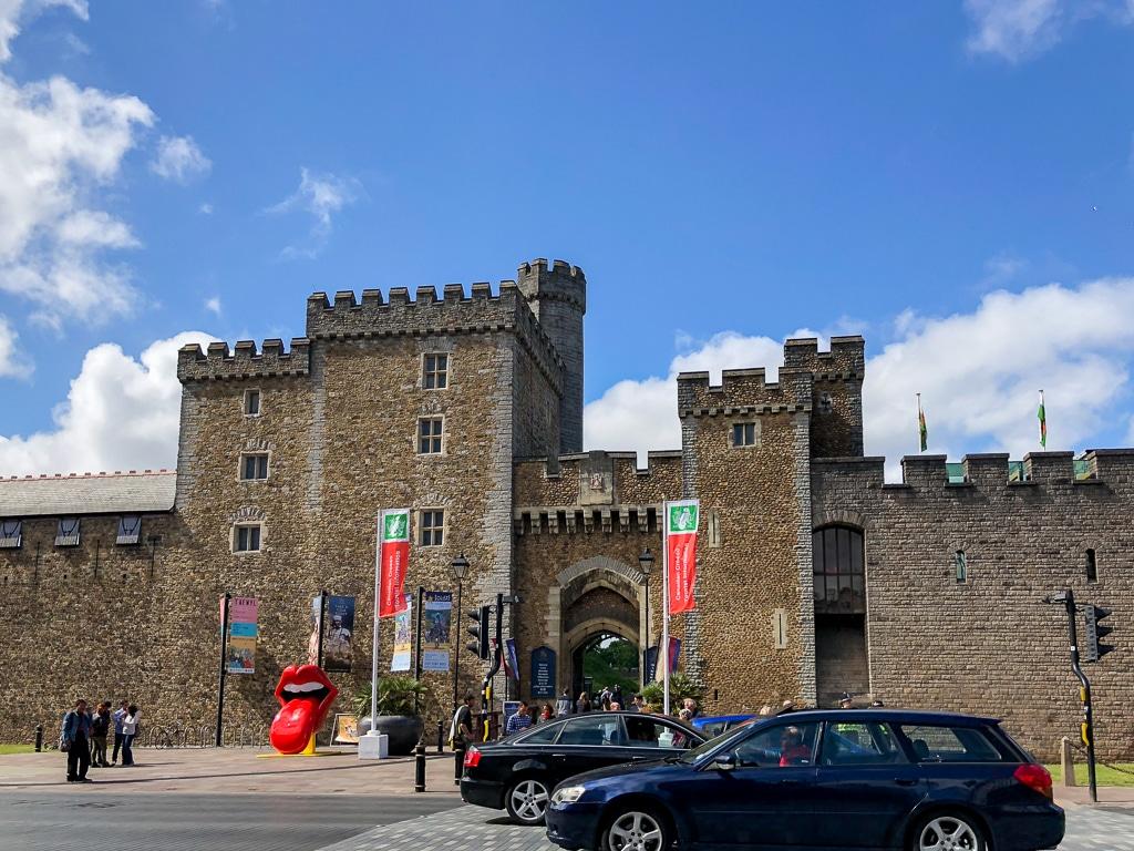 Die bekannteste Sehenswürdigkeit von Cardiff: Cardiff Castle