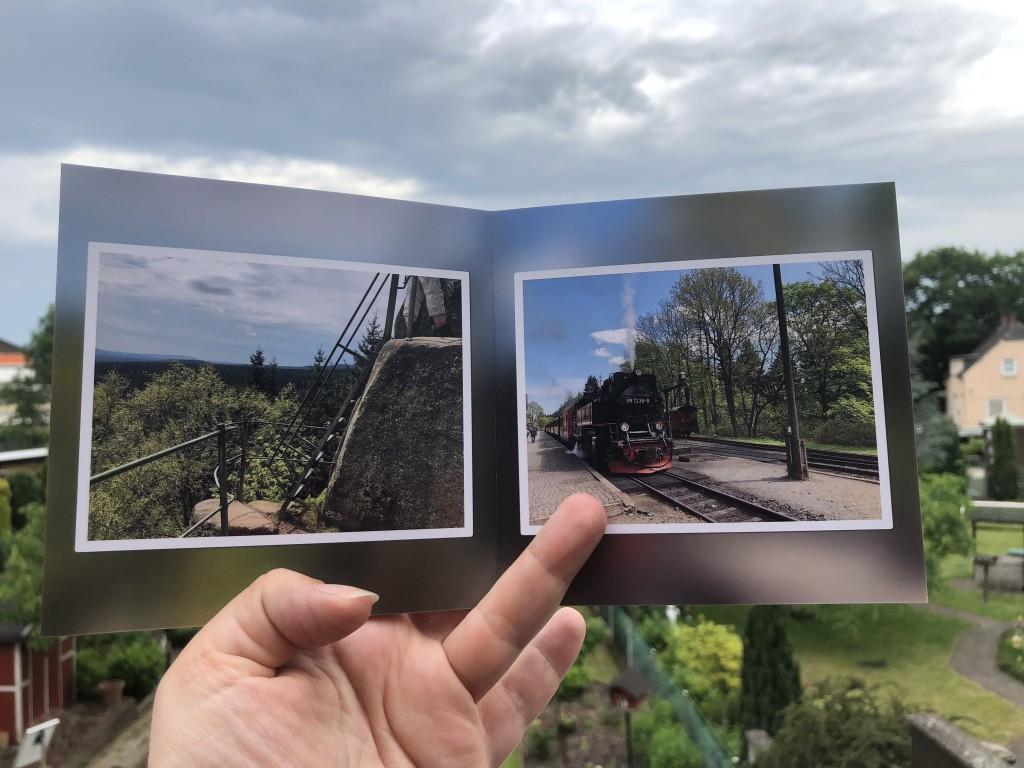 Anzeige: Das FotoPremio RUCK ZUCK Fotobuch® unterwegs ausprobiert