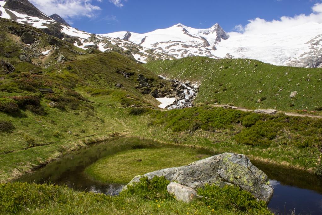 Gletscherlehrweg Bergweg