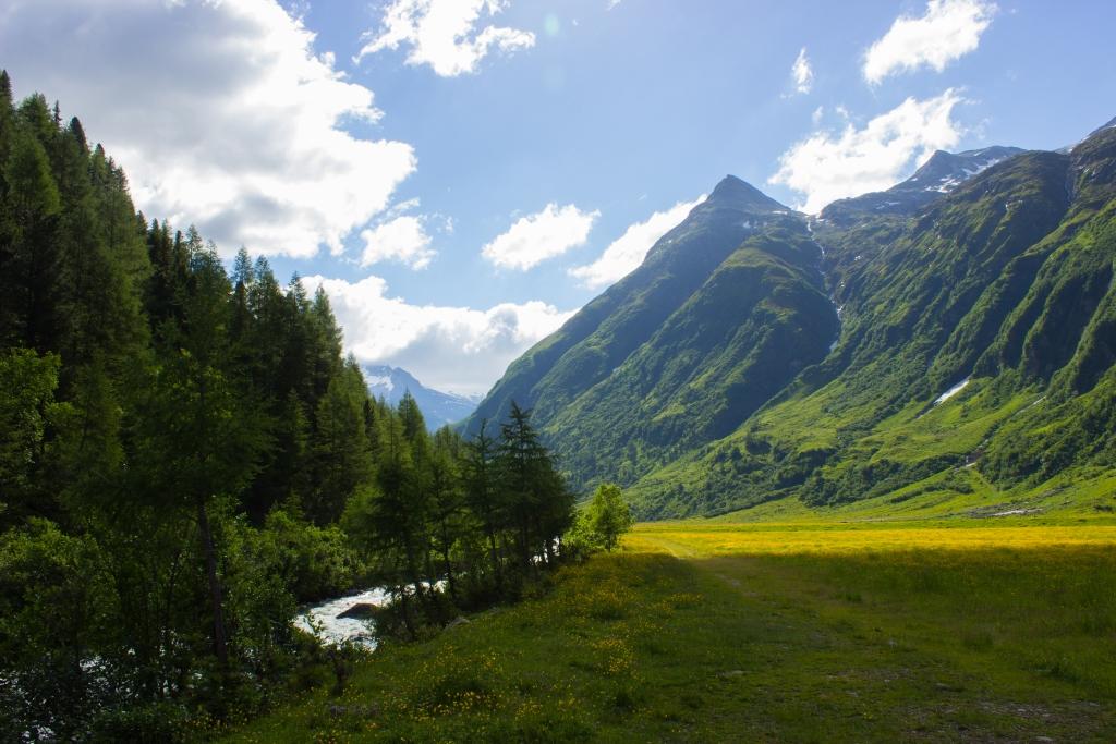 Talschluss Gletscherlehrweg
