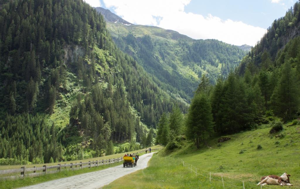Wandern Österreich Umbalfälle